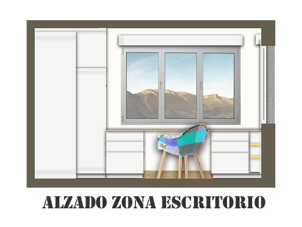 ALZADO ESCRITORIO AITZOL