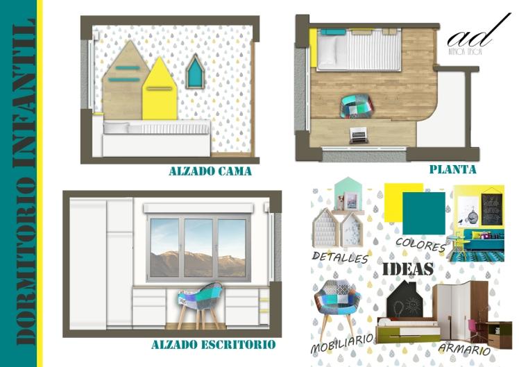 Montaje Dormitorio Infantil